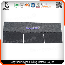 Brand New Waterproof Fiberglass Roofing Shingle with High Quality, Laminated Roof Tile