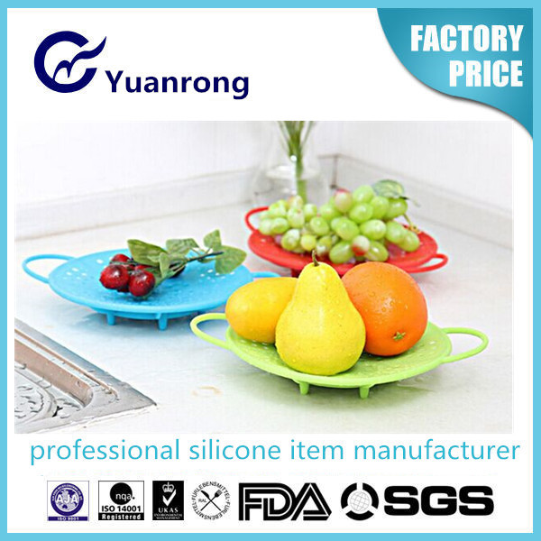 2015 New Silicone Food Steamer Silicone Popular Kitchenware