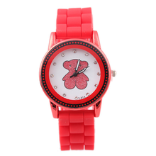 New Arrival Fashion Geneva Watches for Women Ladies Jelly Silicone Sports Dress Quartz Wristwatches