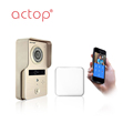ID Card access wifi video door phone wireless intercom with camera