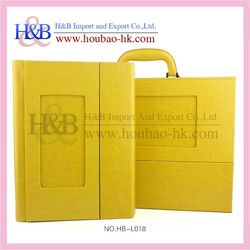 Case Binding and PU Cover Material Family Photo Album