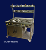 Commercial cooker 6 burner cooker by Sylhet Welding