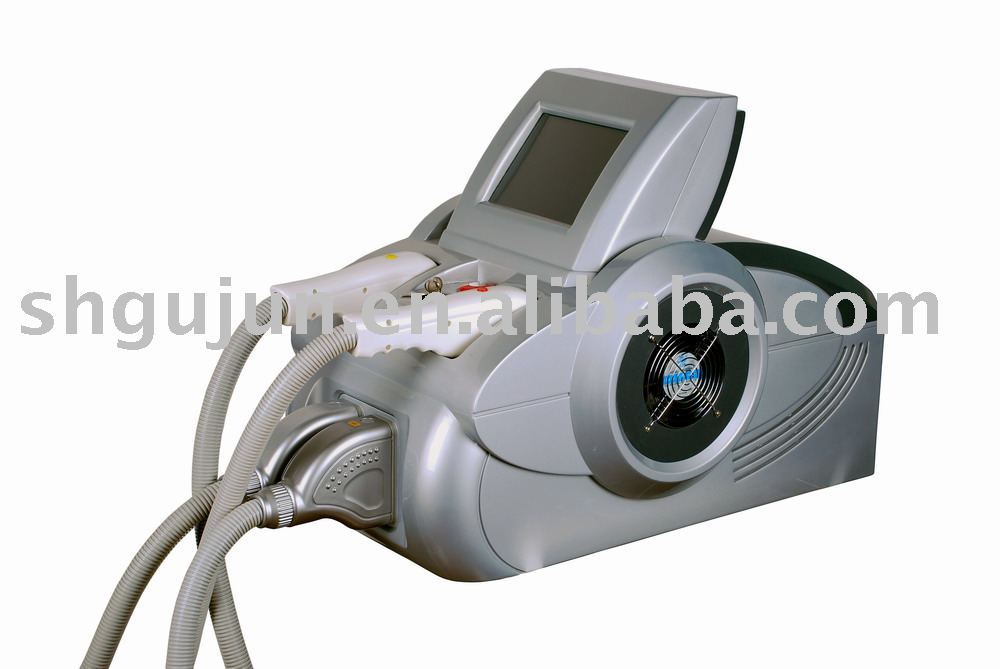 IPL beauty equipment skin rejuvenation and hair removal