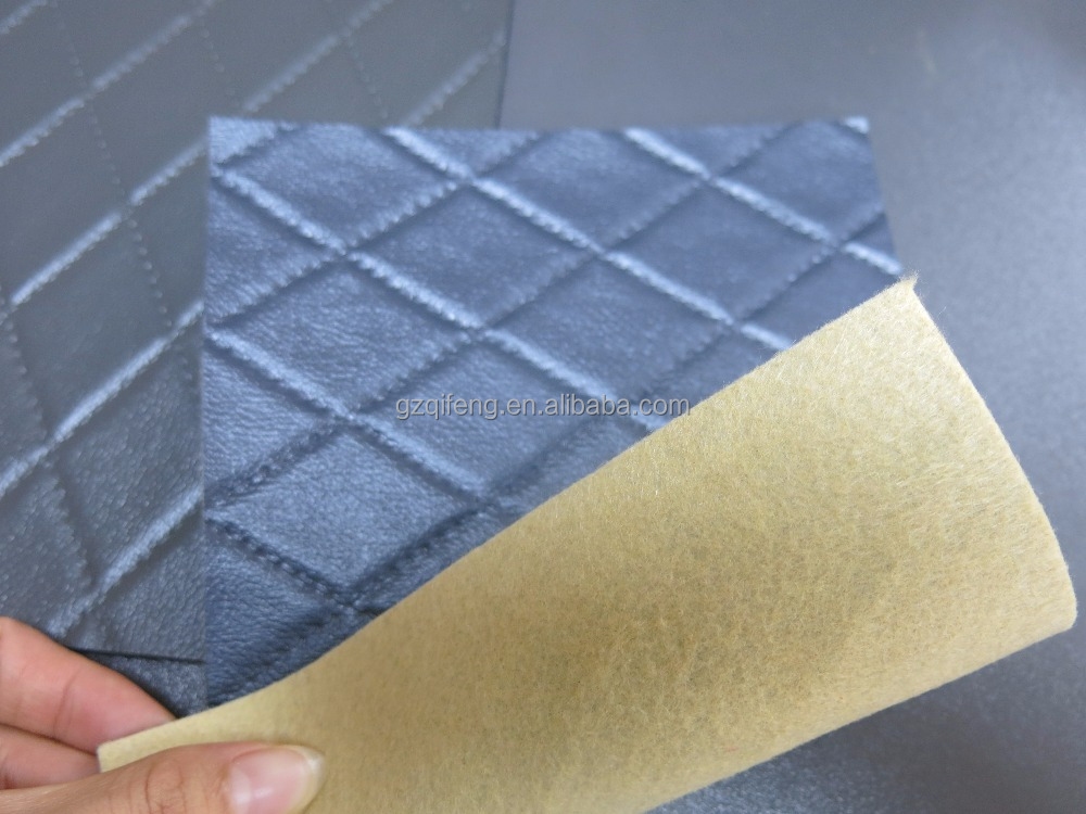 Factory direct Good price car floor pvc leather upholstery leather