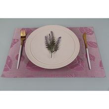 Modern style OEM quality personalized pink fashion placemat table place mat
