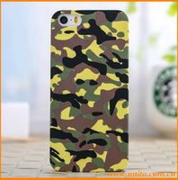 For iPhone 5 case,new fashion mobile phone case with camouflage pattern