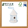 Trade assurance New design unfinished wooden decorative bird house