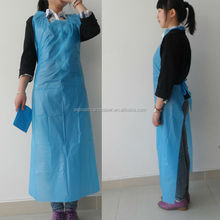Easy work dressing disposable PVC aprons