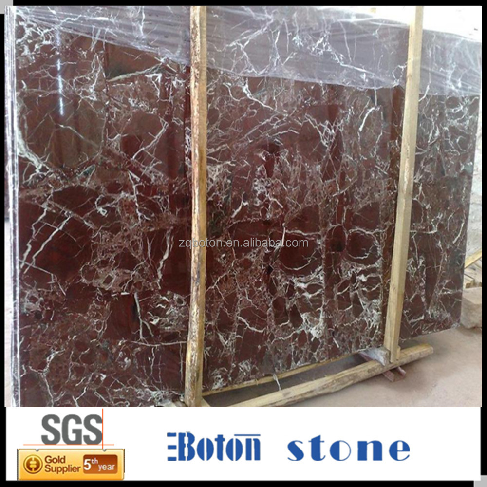 Natural Red Marble Slab Beautiful Marble Slab And Tile For Decoration