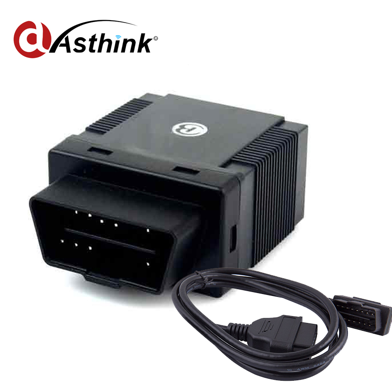 plug and play OBD 2 GPS Over speed alarm engine immobilizer gps tracker from China famous supplier