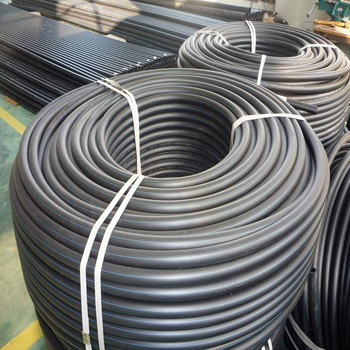 HDPE coiled drinking water pipe 16mm-63mm