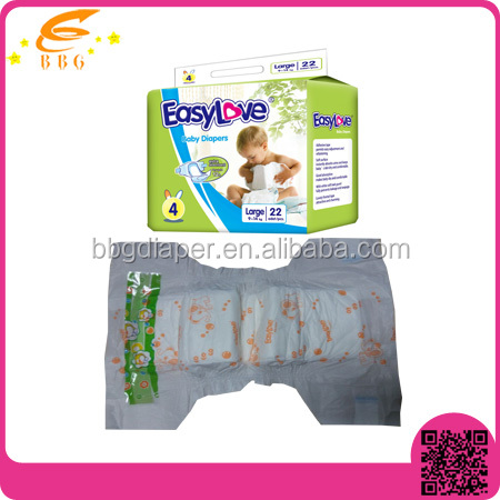 Economic Disposable Baby Diapers Turkey In Bales for wholesale plastic backed baby diapers