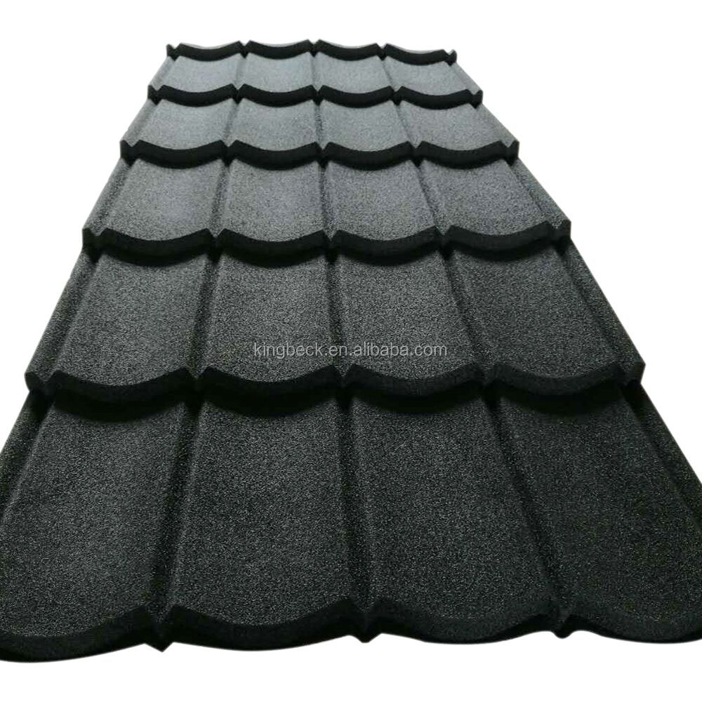 Multiwave Fire proof luxury Villa Stone Coated Roof Color Construction <strong>material</strong>