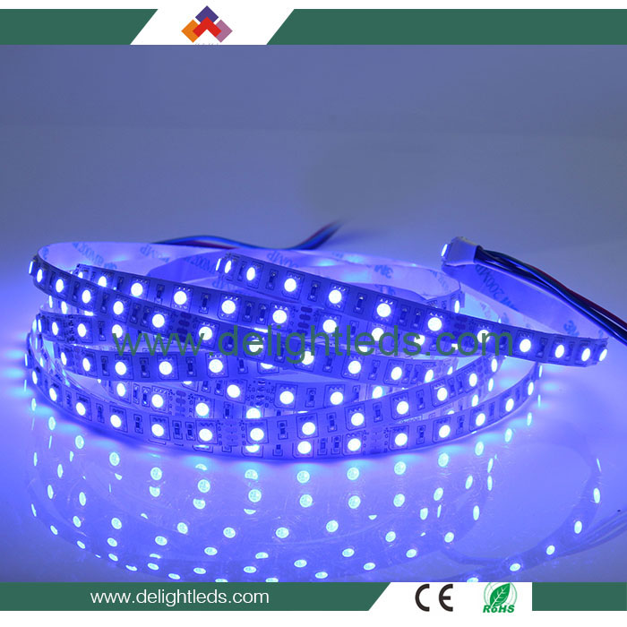 60led rgb 5050 chip 12v led strip 5050 rgb ip65 led strip 24v