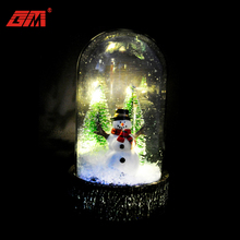 popular 2018 new product LED Christmas glass dome decoration