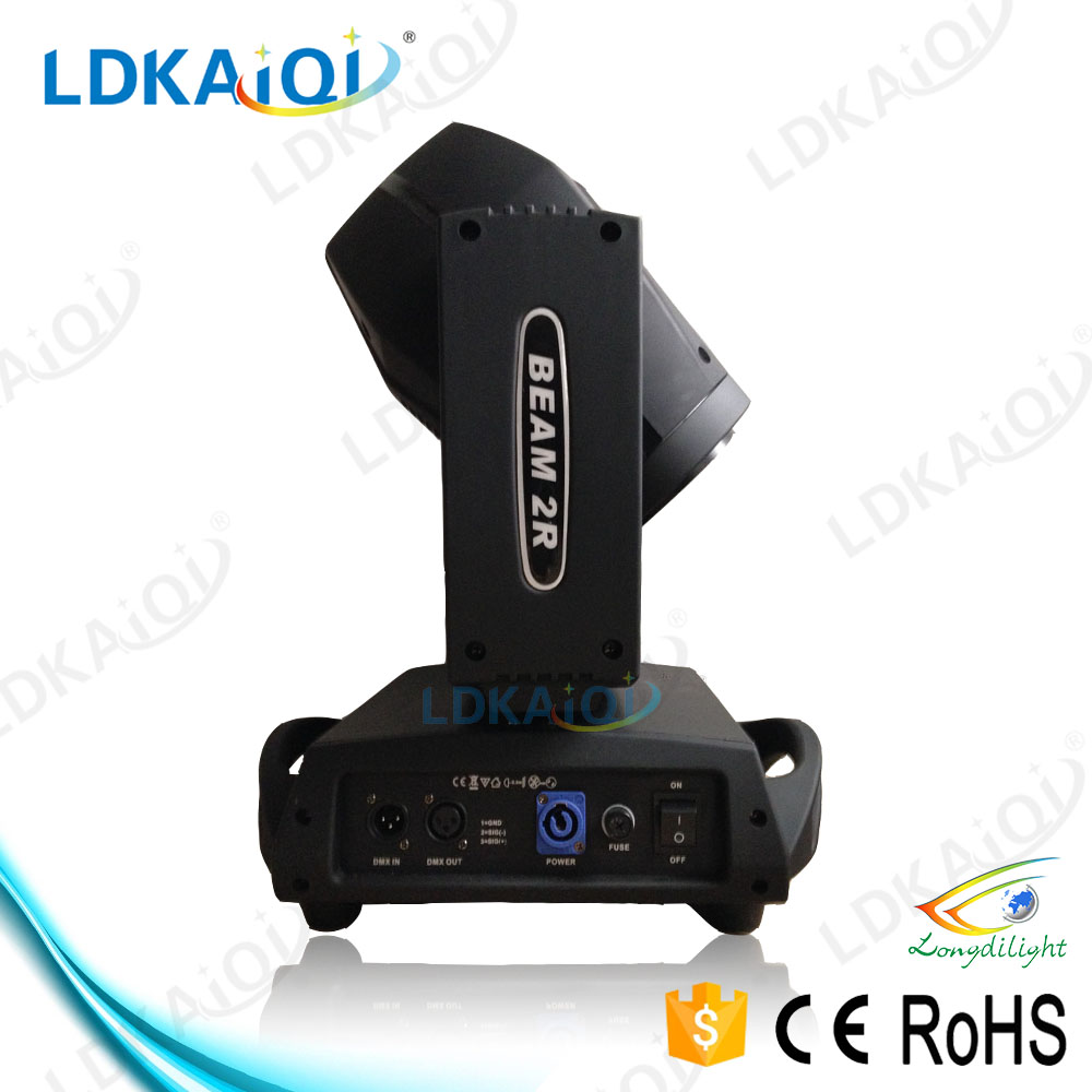 Professional Stage Disco led moving head 120w / 120w 2r beam moving head light