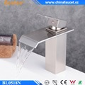 Beelee Wholesale Nickel Brushed Hotel Bathroom Sink Faucet