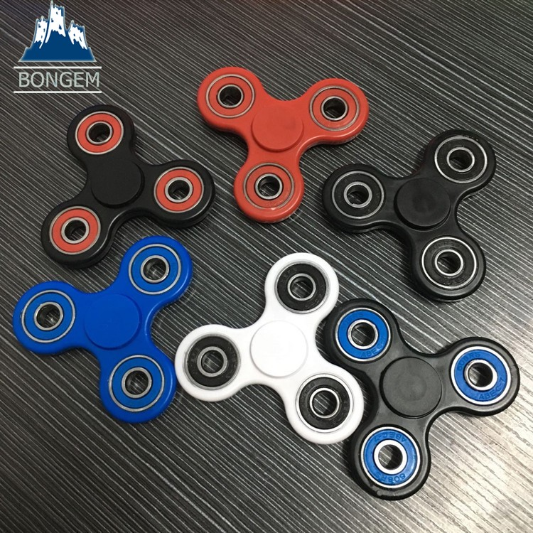 Hottest wholesale price customized logo mixed colors fidget hand spinner