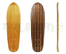 Wholesale blank wood and canadian maple old school skateboard decks