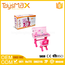 Hot New Products Novel Toy Musical Instruments Plastic 37Keys Electronic Organ Keyboard