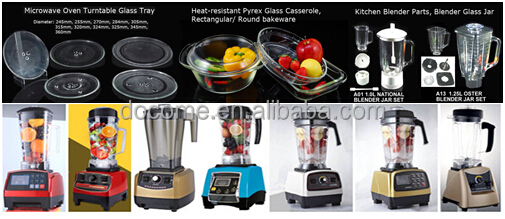 Wholesale kitchen appliance tabletop mixer parts: 1 liter blender plastic jar 242 and 721