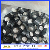 High quality Stainless steel wire mesh washer filter with rubber