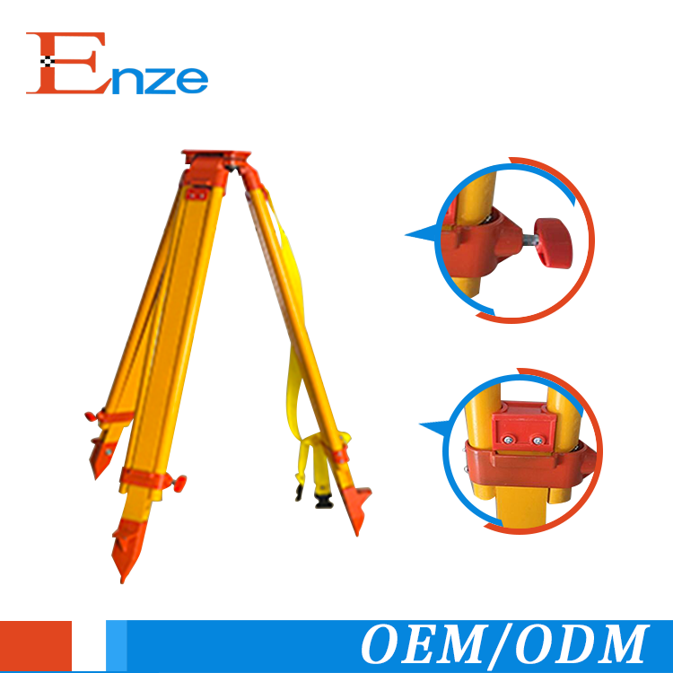 Hot selling survey instruments professional wooden auto laser level tripod