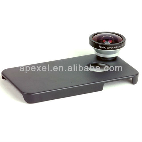 Very Optical 0.4X Super Wide Angel Lens with Case for iphone 4/4S/5/ Samsung S3