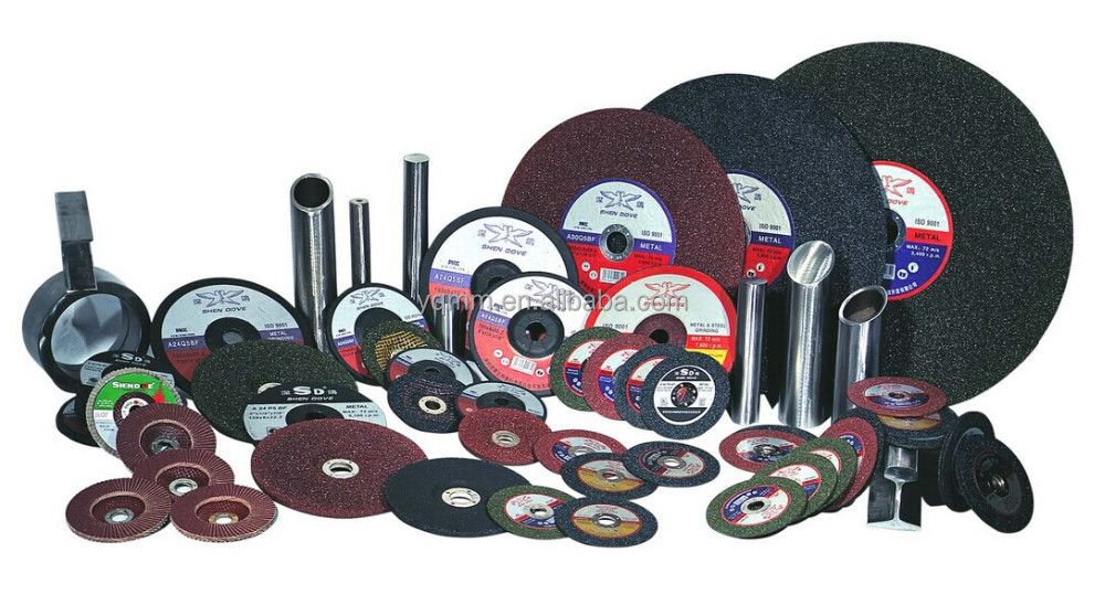 Metal cutting and grinding wheel/disc