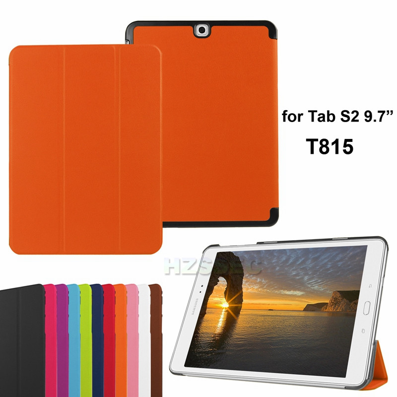 "Shockproof rugged tablet cover stand leather case for Samsung Galaxy Tab S2 9.7"" SM-T815"