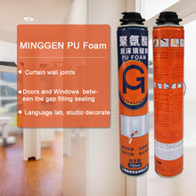 large expansion PU polyurethane pestblock insulating foam sealant