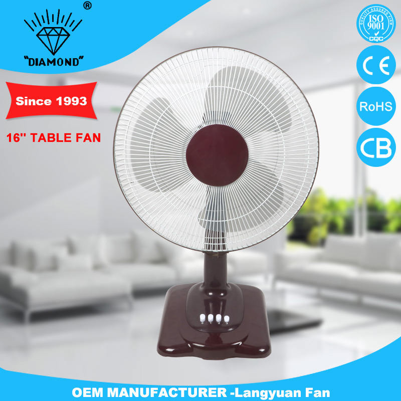Factory price 16'' outdoor electric table fan parts with strong wind