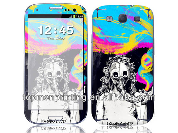 Please take good care of the environment phone decoration sticker for Samsung Galaxy S4/SIV I9500