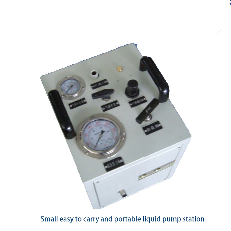 Newly design USUN Model:US-AH16-1 128 Bar Output pneumatic water test pump system