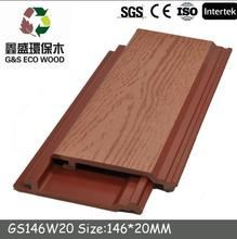 Exterior composite wood plastic wall panel waterproof wpc Interlocking wpc wall cladding