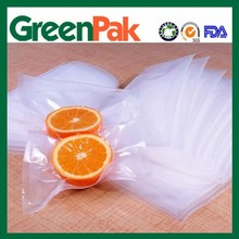 airless enviroment embossed vacuum pouch for fresh fruit