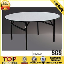 china cheap folding round banquet tables