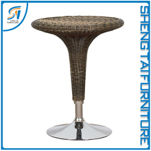 Popular outdoor furniture portable rattan bar furniture with bar table