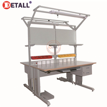 Detall. taller Industrial Workbench con la norma europea