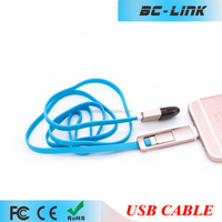 2 in 1 usb data cable sync charger for iphone 6/android micro date cable Cord
