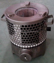 Burning honeycomb briquettes stove with generating electric power function