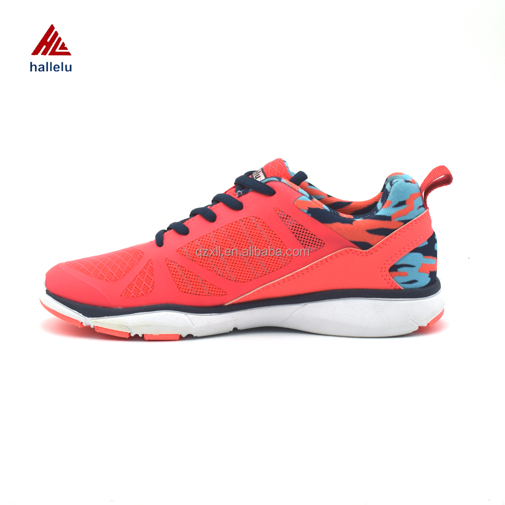 Women Breathable Lace Up Casual Shoes OEM Service Outdoor Fashion Comfort Ladies Shoes