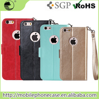 Used Mobile Phones Custom Design PU+PC Cell Phone Case For iPhone 6s
