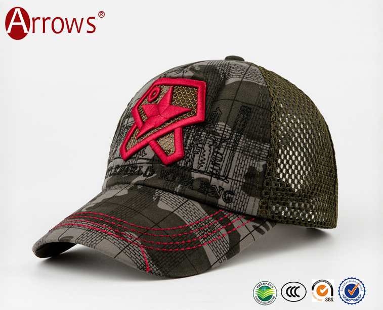 European Style Baseball Caps for Kids/ Military Hero Children Sports Hats