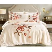 Adjust the temperature breathable mulberry silk bedding set