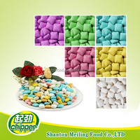 Square shape Chewing Gum In Bulk