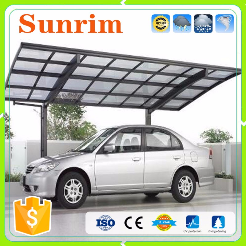 High Quality Galvanized Steel car wash canopy