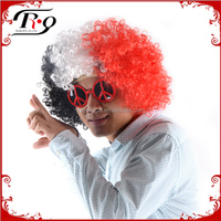 carnival party decoration colorful supporters wigs