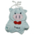 Kids animal school bag cute blue plush pig shaped bags