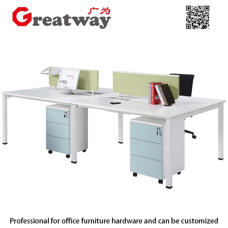 Very cheap modern office cubicle office table laminate melamine office furniture